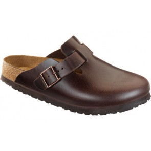 Boston Soft Footbed Brown Amalfi Leather