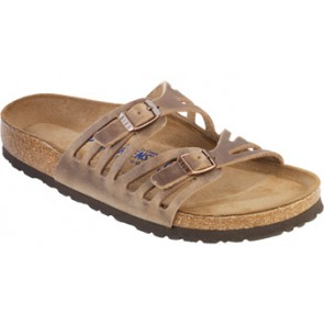 Granada Soft Footbed Tobacco Oiled Leather