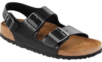 Milano Soft Footbed Black Amalfi Leather