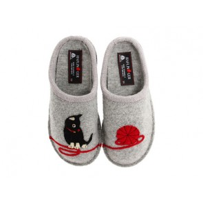 Haflinger Cat Slipper (Grey)