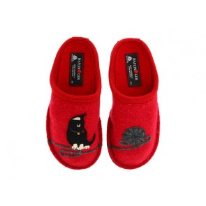 Haflinger Cat Slipper (Red)
