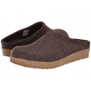 Haflinger GZL Leather Trim Grizzly (Smoke Brown)