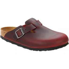 Boston Soft Footbed Zinfandel Oiled Leather
