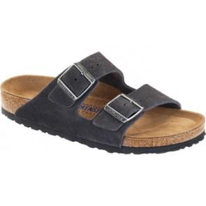 Arizona Soft Footbed Velvet Gray Suede