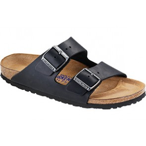 Arizona Soft Footbed Black Oiled Leather