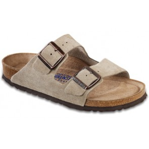 Arizona Soft Footbed Taupe Suede