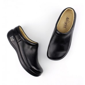 Kayla Black Nappa Professional Nursing Shoe