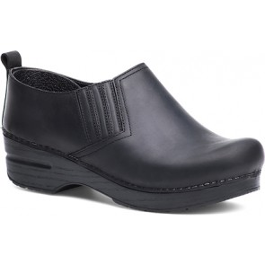 PIET Black Oiled Leather