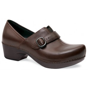 TAMARA Chocolate Burnished Full Grain Leather