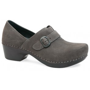 TAMARA Grey Nubuck Leather