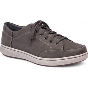 VAUGHN Grey Milled Nubuck Leather