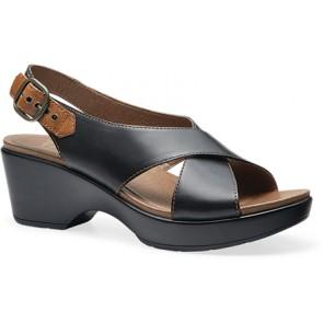 JACINDA Black Full Grain Leather