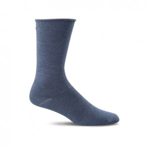SOCKWELL WOMEN'S PLANTAR EASE CREW FIRM COMPRESSION SOCKS